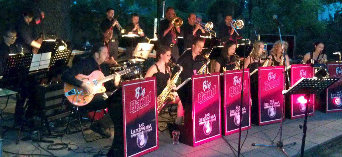 Big Band Bad Liebenwerda Konzert in Pulsnitz